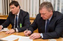 Pasiektas susitarimas dėl pasirengimo olimpiadai