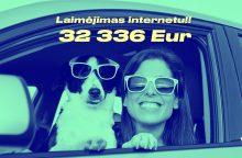 Internetu laimėjusi 32 336 Eur vyks į egzotines keliones