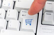 Lietuviai užsienio elektroninėse parduotuvėse apsiperka mažiau nei kaimynai