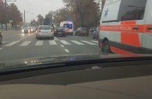 Kaune – dar viena eismo nelaimė