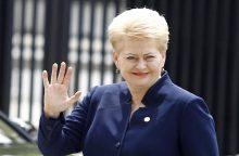 Prezidentė duos startą pasaulyje populiariai lietuvių sukurtai platformai