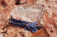 Australijoje – reikšmingi dinozaurų pėdsakų atradimai