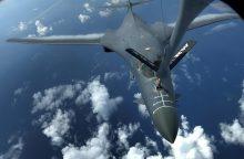 Pietų Korėjos ir JAV karinės pratybos gali pakurstyti įtampą