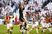 """""""Serie A"""": """"Juventus"""" įspūdingai pradėjo sezoną"""