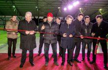 Oficialiai atidaryta Panevėžio ledo arena