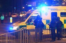 Išpuolis Anglijoje: per koncertą sprogimas užmušė 22 žmones, žuvo ir teroristas