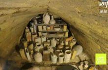 Lietuviška egzotika: japoniška keramikos krosnis kūrenama Neries parke