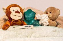 Vaikai geriau žino, kuo prisidengti čiaudint
