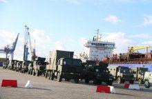 Į Vilnių atvyko kuriamo NATO bataliono vadovybė