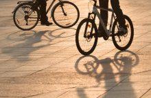 Kaune šiurpina ir girti dviratininkai
