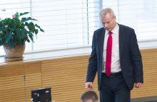 Prokurorai netirs M. Basčio skundo prieš VSD