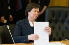 Skandalo epicentre atsidūrusi V. Baltraitienė kaltina kitus