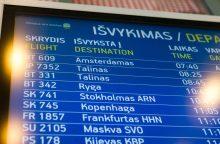 Pasigendama informacijos apie Vilniaus oro uosto rekonstrukciją