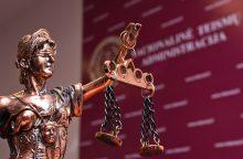 Teismą pasiekė nuteistojo organizuoto lėšų grobimo byla