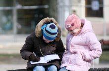 Ar tikrai tampame vis mažiau raštingi?