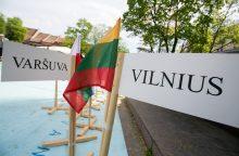 Lietuvos atsakymas Lenkijai: Vilnius pasirengęs ginti Varšuvą
