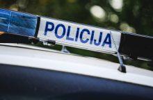 Vairuotojus išgąsdino ant kelio prie Marijampolės gulintis vyras