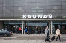Kauno oro uoste – arši taksistų kova