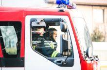 Vilniaus rajone užsiliepsnojo arklidės, gyvulius spėjo išgelbėti