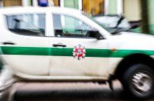 Vilniuje per avariją susižalojo vairuotojas