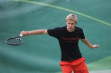 L. Mugevičius nepateko į teniso turnyro Ukrainoje finalą