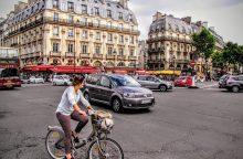 Pasaulio miestai siekia atsikratyti automobilių