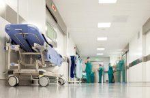 Nukritusį darbininką ištiko koma