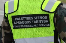 Pasieniečiai sulaikė tris nelegalius migrantus iš Irako ir vokietį