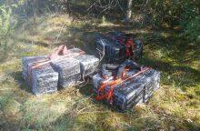 Į pasalą pateko du kontrabandininkai iš Druskininkų