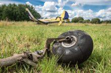 Kauno rajone nukrito lėktuvas <span style=color:red;>(papildyta)</span>