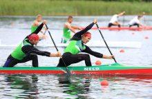 Pasaulio čempionate startuos devynios lietuvių baidarių ir kanojų įgulos