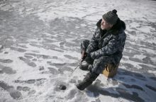 S. Paltanavičius: daugelį dabar domina tik ledo storis ir žuvys