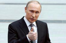 V. Putinas vyksta į Suomiją, tebetvyrant įtampai Baltijos jūros regione