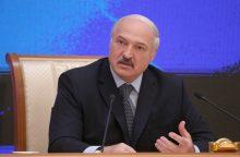 A. Lukašenka: protestus per lenkus ir lietuvius finansavo JAV ir vokiečių fondai