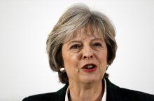 Th. May: Britanija paliks bendrą ES rinką