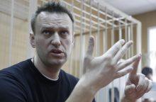 Maskvoje sulaikyta apie 500 žmonių, nubaustas A. Navalnas <span style=color:red;>(papildyta)</span>