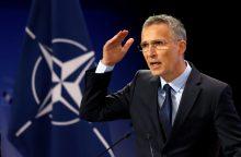 NATO vadovas: dauguma karinių orlaivių virš Baltijos jūros palydimi saugiai