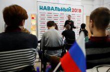 A. Navalno kampanijos štabo vadovui skirta 30 parų arešto