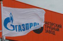 """Premjeras: EK sprendimas nebausti """"Gazprom"""" būtų keistas"""