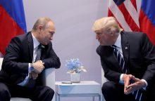 Ar Lietuvai pavojingas D. Trumpo susitikimas su V. Putinu?