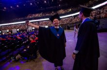 """""""Žalgirio"""" arenoje – diplomų įteikimai KTU absolventams"""