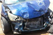 Kaip elgtis susidūrus su neapdraustu automobiliu?