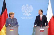 Lenkija ir Vokietija ragina ES ryžtingai reaguoti į rusų šnipo apnuodijimą