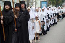 Rusijos remiama Ukrainos bažnyčia atsisakė dalyvauti susivienijimo procese