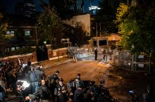 Saudo Arabijos žurnalisto dingimas:  M. Pompeo vyksta į Rijadą