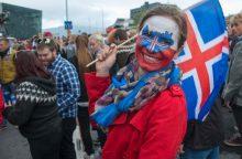 Islandijoje – džiaugsmo banga išsiuntus namo Anglijos futbolininkus