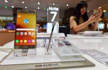 """Naujasis """"Samsung Galaxy Note 7"""" sprogsta ir Kinijoje"""