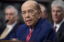 JAV Senatas balsuos dėl W. Rosso paskyrimo į prekybos sekretoriaus postą