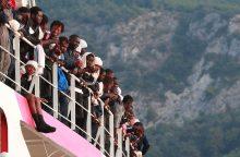 Į Kiprą laivu atplaukė daugiau kaip 140 migrantų