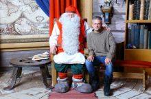 Ką Laplandijoje E. Žičkui atskleidė Kalėdų Senelis ir Lietuvos prezidentė?